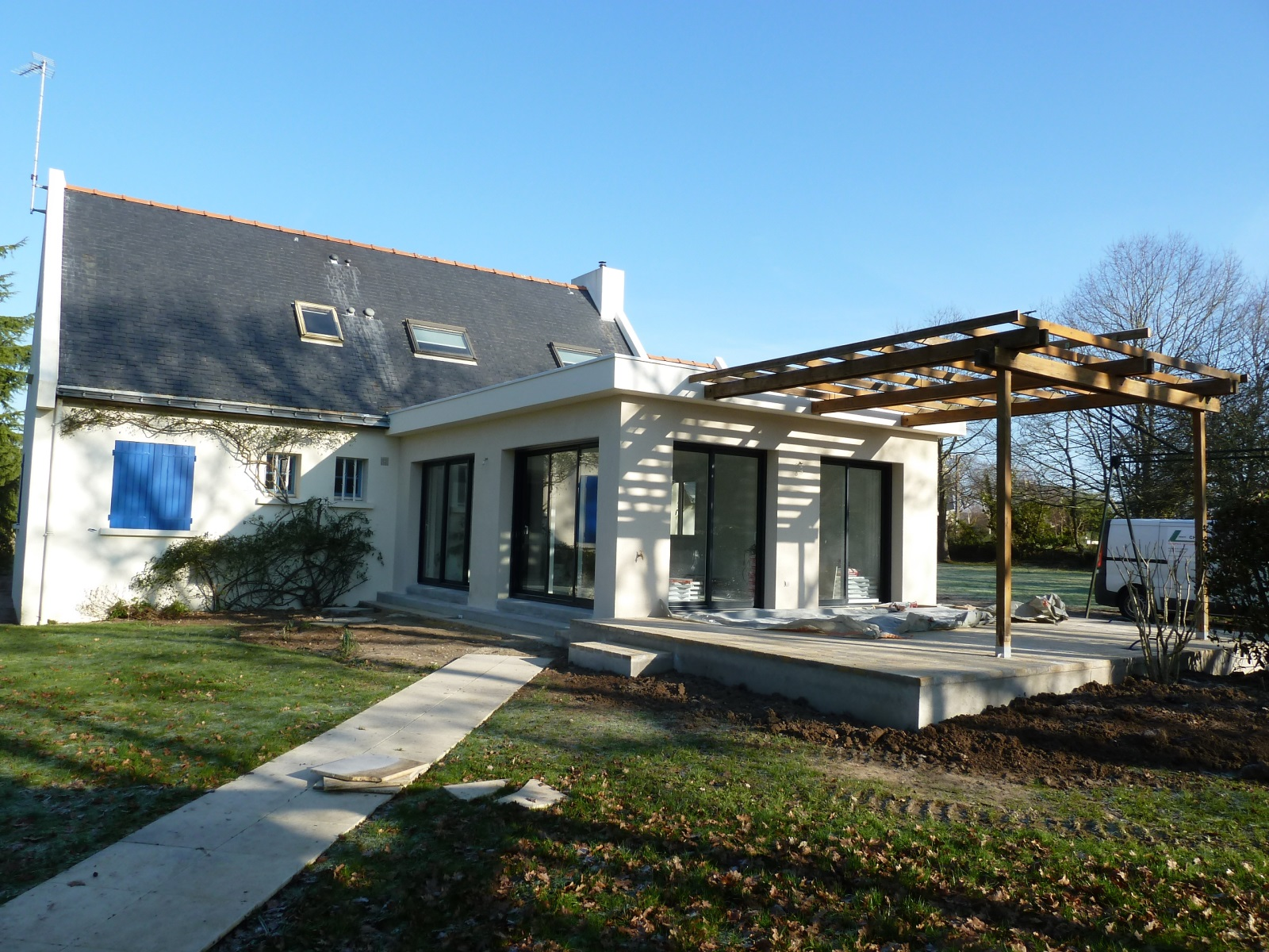Architecte construction maison neuve villa la baule st for Renovation maison